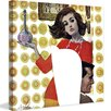 """Marmont Hill Peanuts """"The Love Potion"""" by Coby Whitmore Painting Print on Canvas"""
