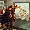 Marmont Hill Maternity Ward by Constantin Alajalov Painting Print on Wrapped Canvas