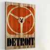 "Marmont Hill Playboy ""Detroit"" Painting Print in Natural"