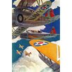 Marmont Hill U.S. Navy Painting Print on Wrapped Canvas