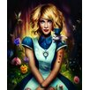 Marmont Hill Alice in Wonderland Painting Print on Wrapped Canvas