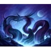 Marmont Hill Dragon Fight Painting Print on Wrapped Canvas