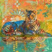 Marmont Hill South China Tiger by Evelia Painting Print on Wrapped Canvas