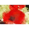 Marmont Hill Red Poppy by Irena Orlov Painting Print on Wrapped Canvas