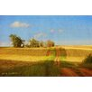 Marmont Hill Road Old House by Chris Vest Painting Print on Wrapped Canvas