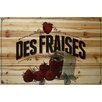 Marmont Hill French Produce Strawberry Painting Print