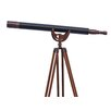 Handcrafted Nautical Decor Refracting Telescope