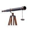 Handcrafted Nautical Decor Floor Standing Galileo Refracting Telescope