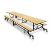 Palmer Hamilton Mobile Folding Cafeteria Table