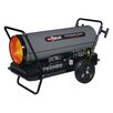 Dyna-Glo 400,000 BTU Portable Kerosene Forced Air Utility Heater with Built in Diagnostic and Flat-Free Wheels