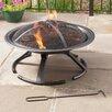 Pleasant Hearth Grab 'N Go Wood Burning Fire Pit