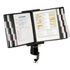 Aidata U.S.A Desk Clamp Reference Organizer