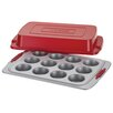 Cake Boss Deluxe 12 Cup Nonstick Covered Muffin Pan