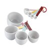 Cake Boss Countertop Accessories 8 Piece Measuring Cup & Spoon Set