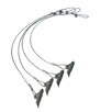 """ShelterLogic 4 Pieces 30"""" Easy Hook Anchor with 4 Cable Clamps and Driving Rod"""