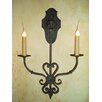 Laura Lee Designs Jasmine Double Wall Sconce
