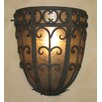 Laura Lee Designs Palm Half Dome Wall Sconce