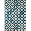 Kalora Maroq Cream/Blue Diamonds Area Rug