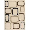 Kalora Cream Cobblestone Area Rug