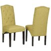 Cortesi Home Perri Camelback Parsons Chair (Set of 2)
