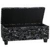 Cortesi Home Mamet Wood Storage Bedroom Bench