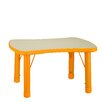 Cortesi Home Soap Adjustable Height Classroom Table