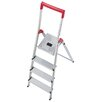 Hailo USA Inc. L50 4.79 ft Aluminum Step Ladder with 330 lb. Load Capacity