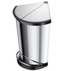 Hailo USA Inc. Trento 6.1-Gal Corner Waste Bin
