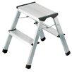 Hailo USA Inc. L90 2-Step Aluminum Step Stool with 330 lb. Load Capacity