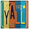 Thirstystone License Plate Y'all Occasions Coaster Set (Set of 4)