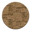 Thirstystone Reuse Recycle Cork Coaster Set (Set of 6)