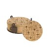 Thirstystone 7 Piece Coffee Break Cork Coaster Gift Set