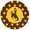 Thirstystone University of Wyoming Dots Collegiate Coaster (Set of 4)