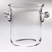 Majestic Crystal Classic Clear Glass Ice Bucket