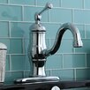 Kingston Brass Heritage Single Handle Bathroom Faucet with Push-Up Drain
