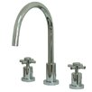 Kingston Brass Concord Double Handle Widespread Kitchen Faucet