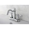 Kingston Brass American Classic Double Handle Centerset Bathroom Faucet with ABS Pop-Up Drain