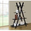 "Jeco Inc. 4 Tiers Kross 59"" Accent Shelves"
