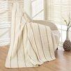 Ottomanson Soft Cotton Cozy Fleece Blanket