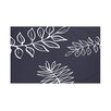 e by design My Best Frond Floral Print Throw Blanket