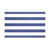 e by design Stitch in Time Stripes Print Throw Blanket