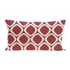 e by design Pebbles Geometric Print Outdoor Pillow