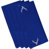 e by design Cool Dude Holiday Animal Print Napkin (Set of 4)
