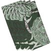 e by design Flowers and Fronds Floral Napkin (Set of 4)