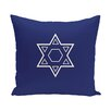 e by design Star of David Throw Pillow