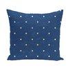 e by design Hang Ten Dorothy Dot Geometric Throw Pillow