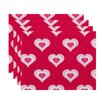 e by design Valentine's Day Placemat