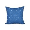 e by design Hang Ten Dorothy Dot Geometric Outdoor Throw Pillow