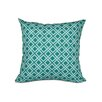 e by design Nautical Nights Rope Rigging Geometric Throw Pillow