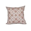 e by design Nautical Nights Know the Ropes Geometric Throw Pillow